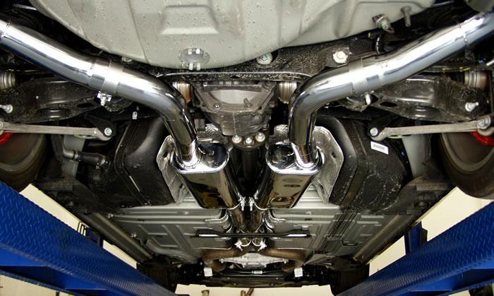 09 challenger exhaust on an sxt magnum