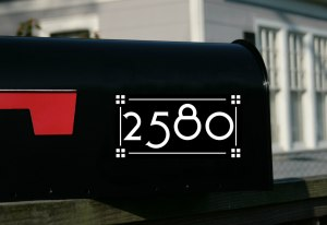 Craftsman Mailbox Numbers