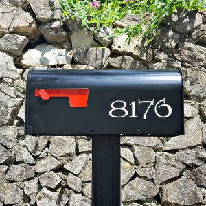 Harry Potter Inspired Mailbox Numbers