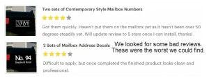Four star reviews