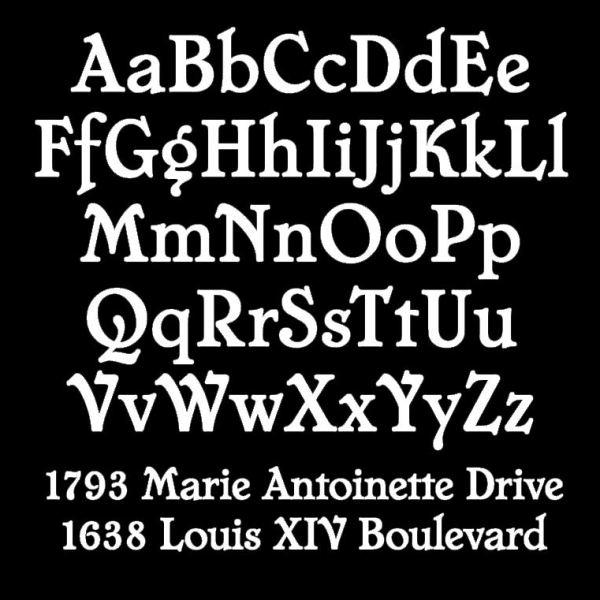 Chatelaine Typeface Sample