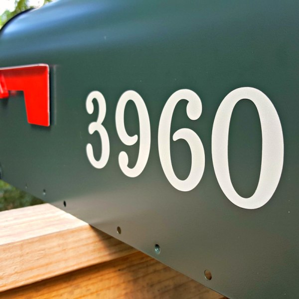 Chatelaine Reflective Mailbox Numbers