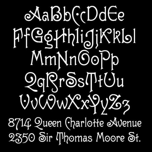 Guttenberg Typeface Sample