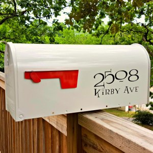 Lumos Mailbox Decals - Black