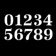 Antiqua numbers sample