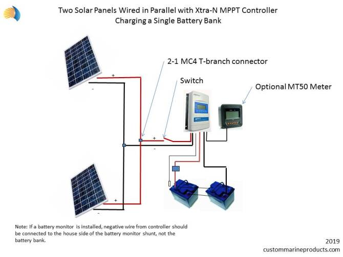 mppt xtran marine solar panel charge controller  marine