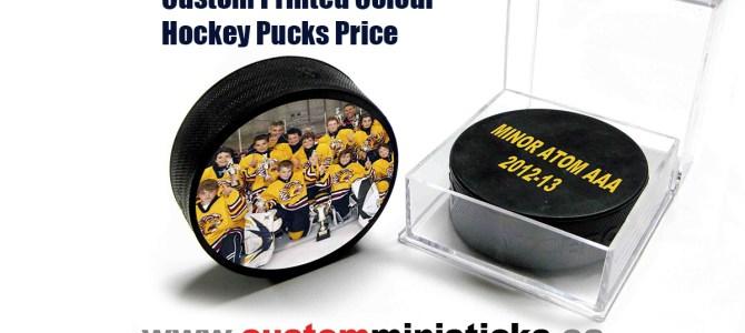 Custom Printed Colour Hockey Pucks Price