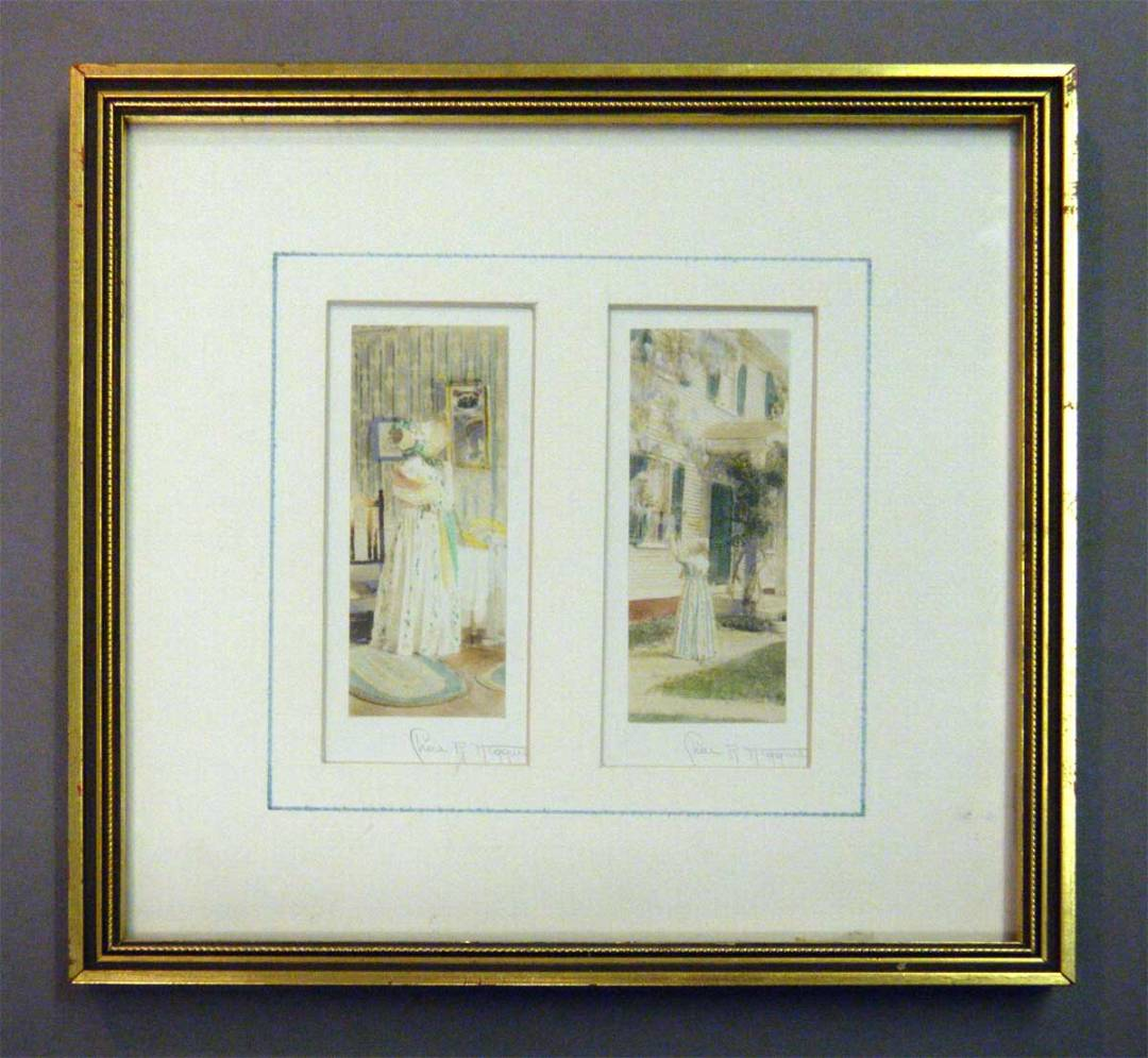 Charles R Higgins Framed  (before)
