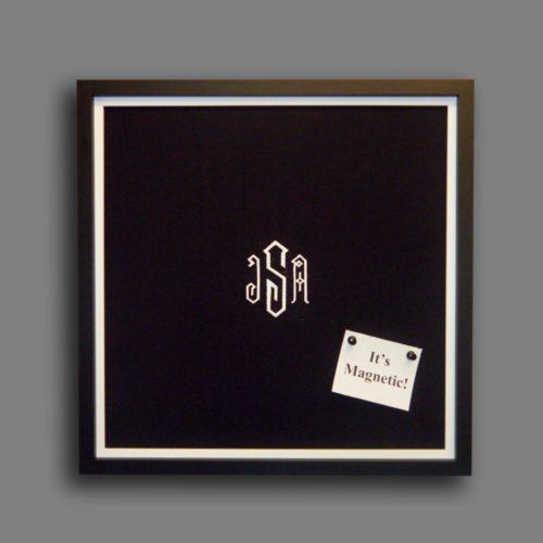 Custom Monogram Magnet Board
