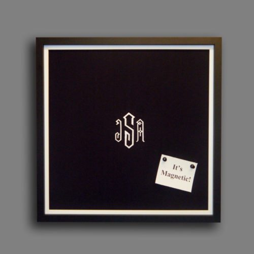 Custom Monogram Magnet Board