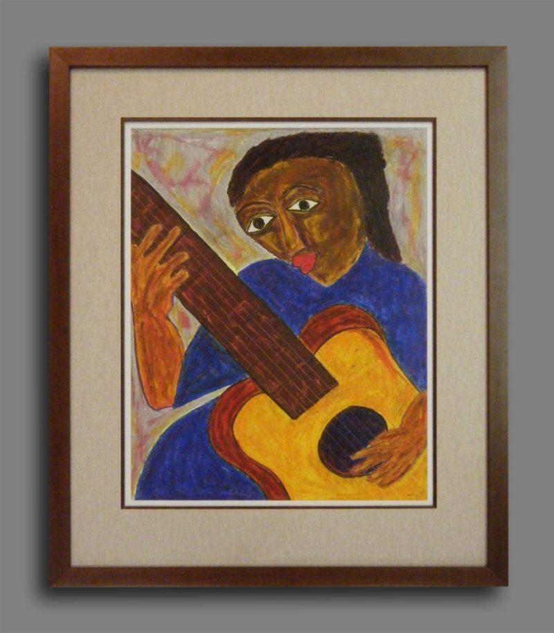 """""""Guitar"""" - South African Art"""