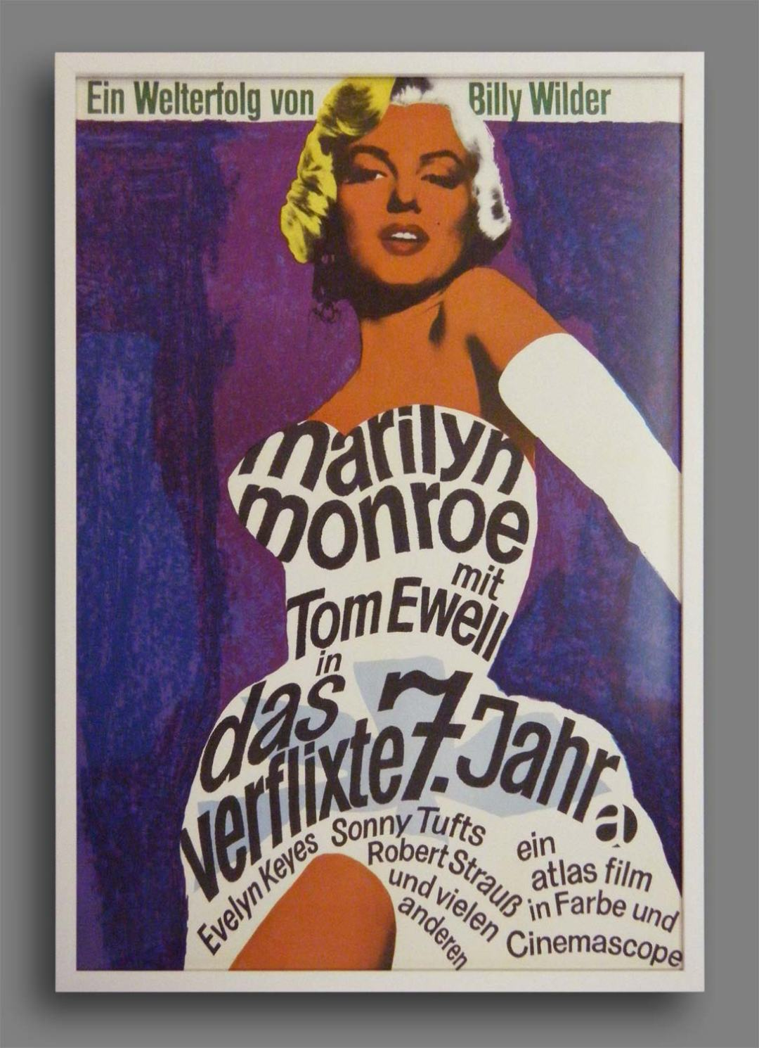 The Seven Year Itch - Original 1955 Poster