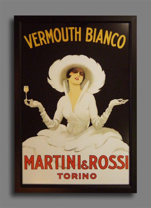 """""""Martini & Rossi"""" by Marcello Dudovich"""