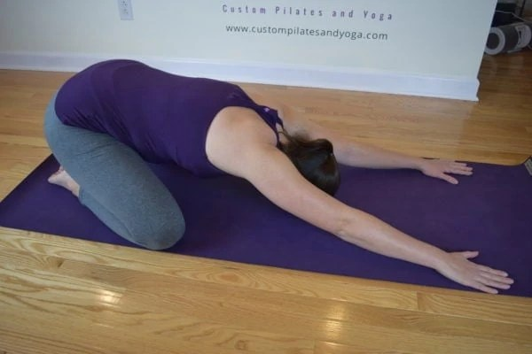 Child's Pose/Shell Stretch:  Do More Than Rest