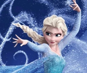 Elsa is now perfect being herself.