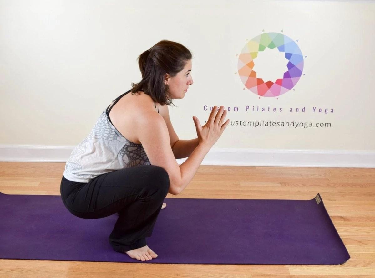 Malasana, the Yoga Squat