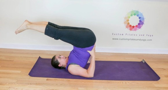 How to Practice Plow Pose-the Original Roll Over - Custom Pilates and Yoga