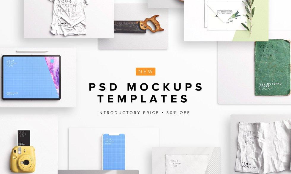 NEW PSD Mockups Templates Category