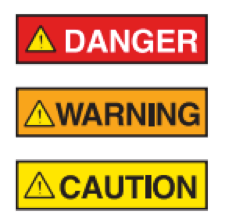 Sign Meanings Caution Warning Danger Signs Explained Signage