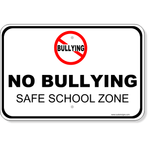 Click here to order your No Bullying signs