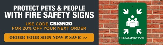 Get 20% Off Fire Safety Signs with Code CSIGNS20, Fire Assembly Point Sign