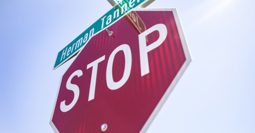 Stop Sign and Street Sign