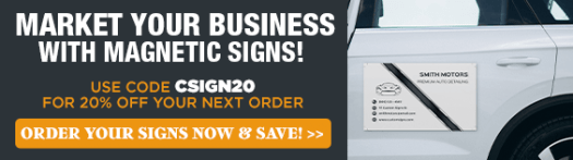Shop & Save on Vehicle Signs
