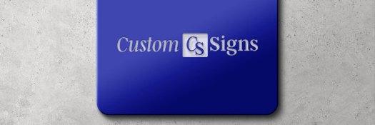 custom engraved plastic sign