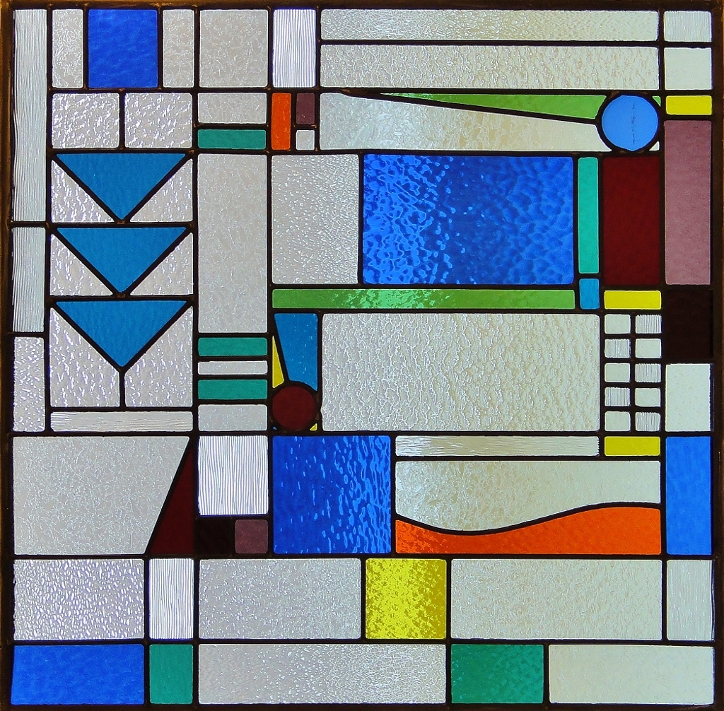 Celtic Stained Glass absract