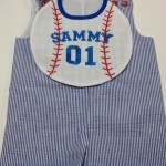personalized baseball bib
