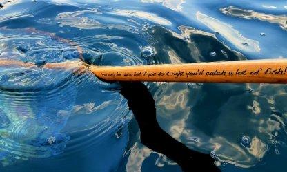 MOBYNet MOBY Kamloops Trophy Wooden Catch & Release Fly Fishing Net