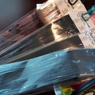Window Tint Fly Tying Capes - Packaged