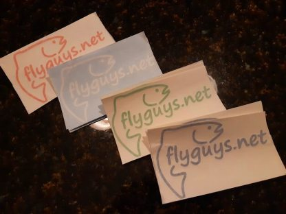 Flyguys.net Rainbow Trout Wrap Decals
