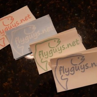 Flyguys.net Rainbow Trout Wrap Decals
