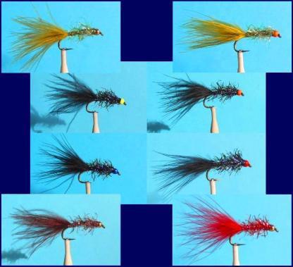 UV2 Straggle Leech Flies