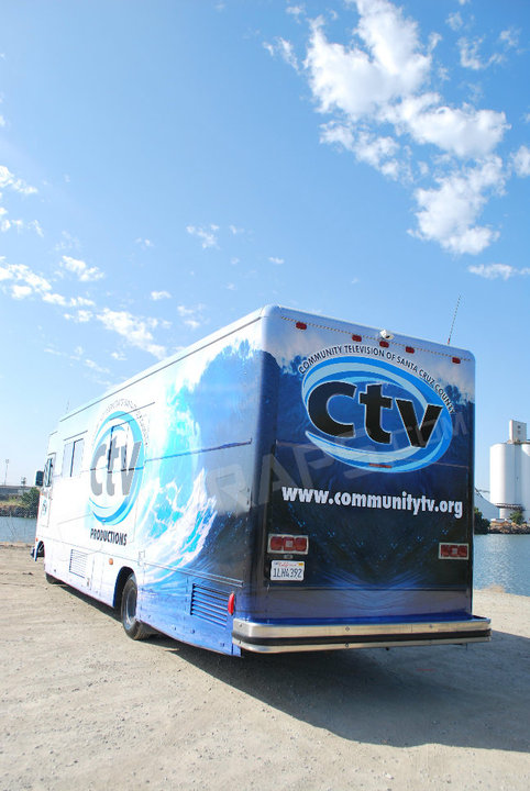 RV Bus Custom Vehicle Wrap Graphics Vinyl Decals and