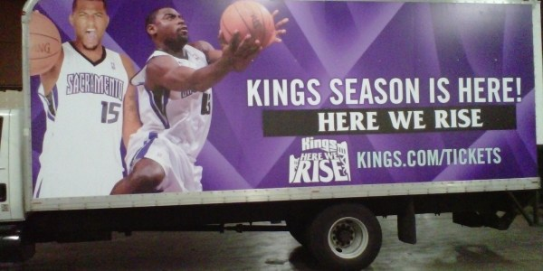 Sacramento Kings Box Truck Wrap