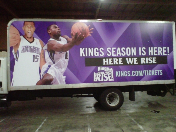 Wrap for Sacramento Kings