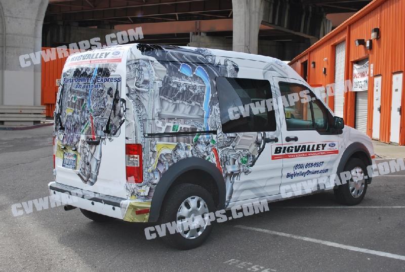 Ford Transit Wrap