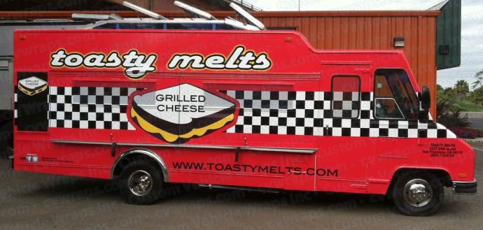Toasty Melts Food Truck