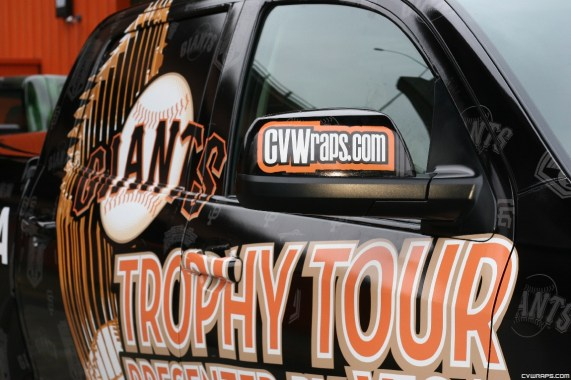 Truck Wrap for San Francisco Giants