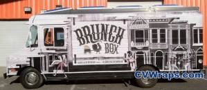 Food Truck Wrap - Brunch Box