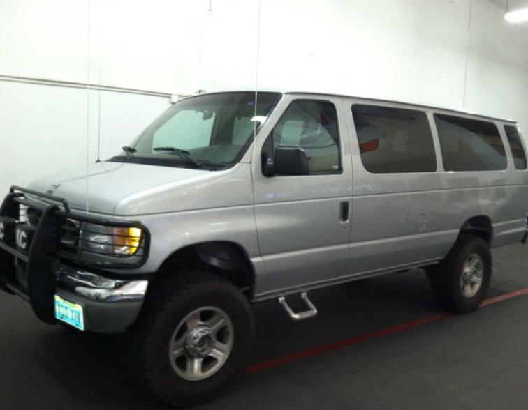 Shuttle Van - Pre Wrap