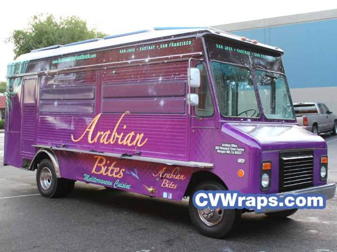 Arabian Bites Food Truck Wrap