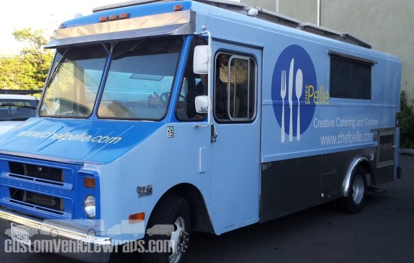 Chef Pelle - Food Truck Wrap