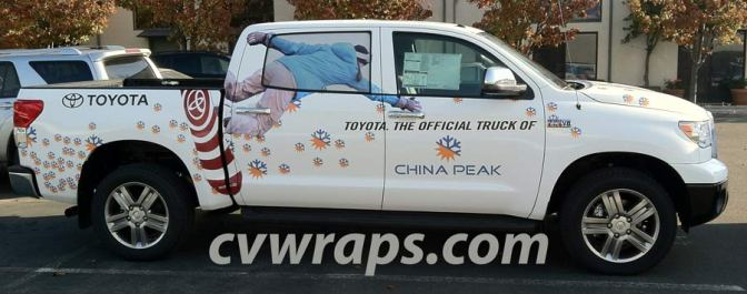 China Peak Truck Wrap