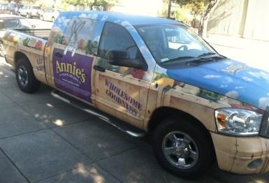 annies truck wrap