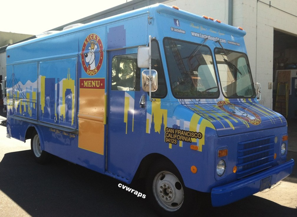 Lucky Dogs Food Truck