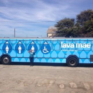 Lava Mae Bus Wrap