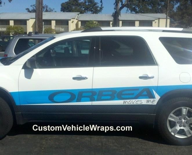 Orbea – Promotional SUV Wrap – Custom Vehicle Wraps